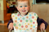 Busbane francesi non tessute a gettare di cura del bambino