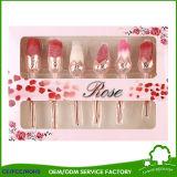 Brosse à maquillage fleur rose pour cosmétiques Beauty Grils Best Love Gift