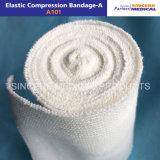 Het Katoenen van 100% Elastische Verband van de Compressie (A101)