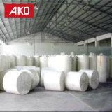 Étiquette auto-adhésive de logistique d'étiquettes d'expédition de roulis enorme de papier thermosensible d'impression verte soutenable