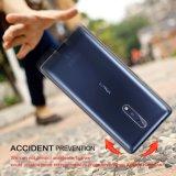 Nokia 8 cas, 2 Pack Sparin amortissant les chocs couvercle de boîtier de TPU souple transparent pour Nokia 8, 5.3 pouce Crystal Clear