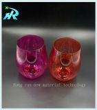 Große Plastikwein-Glas-trinkende Cup