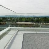 Prima U 채널 발코니를 위한 유리제 방책 강화 유리 난간