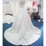 160620 без бретелек фабрики классицистических линия платье венчания с лифом Pleats