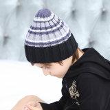 Шлем Beanie нашивки девушок мальчиков шлема падения весны детей малышей стильной связанный печатью (HW612)
