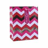 Überzogenes Papier-reizendes Mädchen-Handtaschen-süsses Süßigkeit-Einkaufen-Geschenk-Papierbeutel