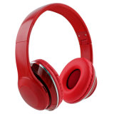 PRO sobre as orelhas Superior os auscultadores Bluetooth estéreo sem fio com FM e slot de cartão TF