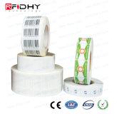860~960 escritura de la etiqueta de código de barras seca pasiva de la frecuencia ultraelevada Monza 4qt RFID del megaciclo Hy-B44 Impinj