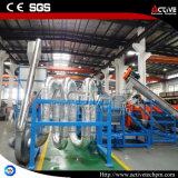 1500kg/H de Was van het Schroot van de Fles van het Huisdier van het afval en de Plastic Lijn van het Recycling
