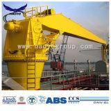 船の海洋クレーン油圧固定ジブかブームクレーン