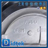 "Didtekのデュプレックスステンレス鋼4AシリーズBフランジ30の""ウエファーの小切手弁"