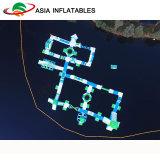Nuevo parque acuático gigante inflable de flotación equipos de juego