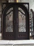 Puerta del hierro labrado de las ventas directas de la fábrica