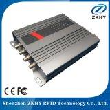 Leitor fixo passivo da freqüência ultraelevada ISO18000-6c 860-960MHz de RFID Zkhy para o seguimento do recurso