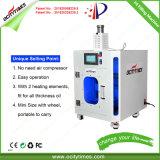 Ocitytimes 510 cartuchos vaporizador óleo Full automatic fácil operar F4 Cdb máquina de enchimento do cartucho de Óleo