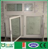 تصميم جديدة ألومنيوم شباك نافذة ذراع تدوير نافذة مع شاشة قابل للانكماش