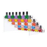 Stand acrylique fait maison de couleur de clou pour la décoration de Noël