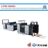Cuchilla de la cadena totalmente automática máquina laminadora película térmica de alta velocidad[Lyfm-1080sg]