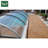 En polycarbonate transparent personnalisables Outdoor Pool télescopiques couvre