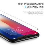 Het kleine Duidelijke Aangemaakte Glas van de Besnoeiing HD voor iPhone X