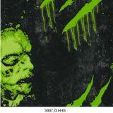 Гидрактор холодной черноты черепа голубой окуная пленки для стикеров S01hc1095b автомобиля