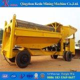 China Mobile 100tph Máquina de refinación de oro