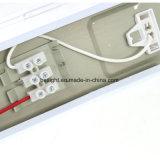 中国の卸売1200のABS PS IP65はT8 2X36Wの花盛りの照明設備を防水する