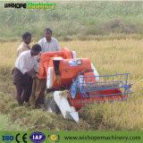 Fácil manejo Maquinaria Agrícola Mini Cosechadora de Paddy