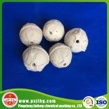 Media del soporte o bolas de cerámica del alúmina inerte del portador de catalizador