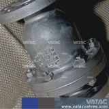 Valvola di ritenuta serrata della sfera del cofano Pn10/Pn16
