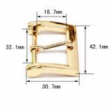 Hot Sale du faisceau en alliage de zinc métal broche boucle la boucle de ceinture pour vêtements chaussures sacs à main (yk1149)