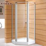 振動ドア(K-226)が付いているAlフレームの新角度のシャワー室