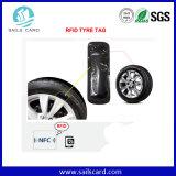 盗難防止またはIDの追跡タイヤのためのUHF RFIDの付着力の札