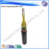 Силовой кабель напряжения тока оболочки PVC изоляции XLPE средств