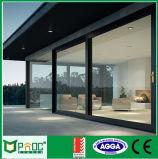 Buy della fabbrica dal portello di vetro di scivolamento di alluminio del blocco per grafici di profilo direttamente