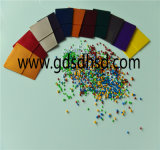 Color blanco Masterbatch Cm3318 de los gránulos plásticos de PE/PP/ABS