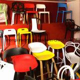 أسلوب بوليبروبيلين بلاستيكيّة كرسي ذو ذراعين أسود مقادة مع كروم يصفّى [ستيل وير]