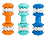 Brinquedos limpos da mastigação do cão da mordida de cão dos dentes do brinquedo de borracha do animal de estimação