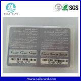 Cartão pagado antecipadamente risco do papel da impressão 400g da qualidade superior para o cartão de chamada