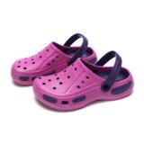 EVA de color doble obstruir la zapatilla para el hombre y mujer
