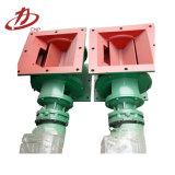 Valvola di scarico rotativa personalizzata a temperatura elevata della sacca d'aria dell'acciaio inossidabile di resistenza