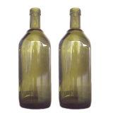 Leere Olivenöl-Glasflasche für Öl-Verpackung