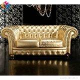 Le bois solide découpent le sofa Hly-Sf58 de bonne qualité