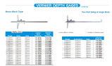 """Polegadas Mono-Block métrica tipo paquímetro Medidores de profundidade / paquímetro de profundidade 0-150/200/300/500mm, 0-6""""/8""""/12""""/20"""""""
