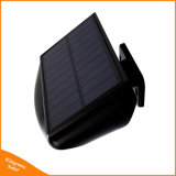 Sensor de movimiento de LED solares de Jardín de luz de pared resistente al agua de la seguridad Sos lámpara de noche