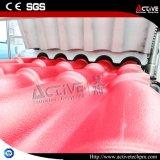 Peso ligero Colonial Azulejo Plástico de PVC de la máquina de extrusión