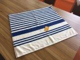 대나무 섬유 줄무늬 목욕 수건