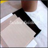 Panno rivestito nero della vetroresina di PTFE
