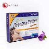 呼吸鼻のストリップをよくしなさい、いびきをかくことを止めるように右の鼻のストリップ、鼻パッチを呼吸しなさい