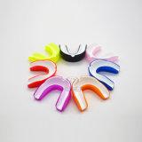 Protector de boca Moldable material de EVA del protector de boca del boxeo de la protección de los dientes